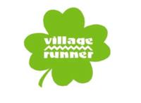 Thumb village runner logo