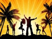 Thumb beach party vector 266277